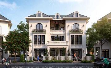 Thiết kế kiến trúc nội thất biệt thự liền kề Đại Thanh