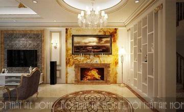 Thiết kế nội thất biệt thự tân cổ điển - Khách hàng anh Tài, TP. Giao Lưu