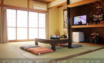 Thiết kế chung cư phong cách Nhật Bản ấn tượng