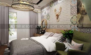 Thiết kế thi công chung cư phong cách Vintage - Anh Hải