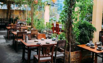 """Những mẫu thiết kế nhà hàng sân vườn """"vạn người mê"""" không thể bỏ qua"""