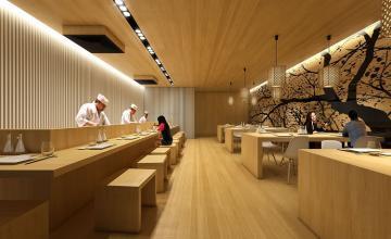 Tổng hợp những mẫu thiết kế nhà hàng kiểu Nhật độc đáo nhất