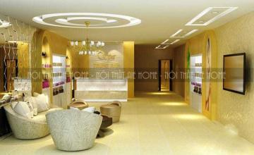 Một số mẫu thiết kế phòng khách cho Spa