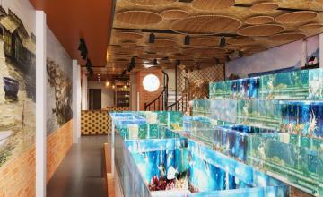 Nhà hàng hải sản Giãy Đành Đạch 90 Trung Kính - Hà Nội