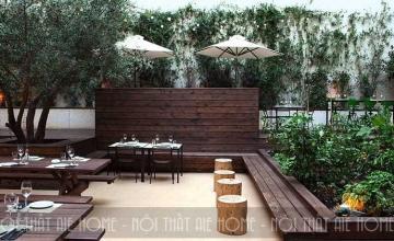 5 bí kíp thiết kế nhà hàng sân vườn đẹp lung linh