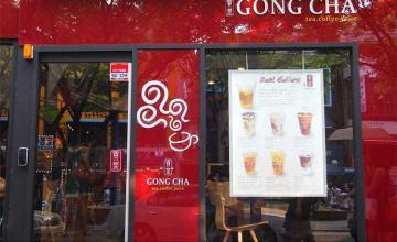 Thiết kế quán trà sữa Gong Cha - Thái Nguyên