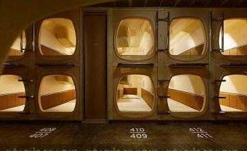 Khám phá bí mật bên trong những thiết kế khách sạn con nhộng