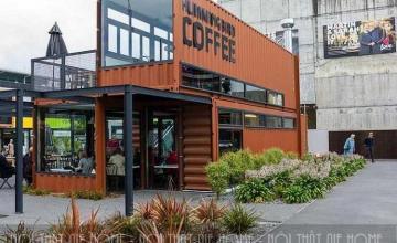 Cuốn hút trước những mẫu thiết kế nhà hàng container siêu ấn tượng