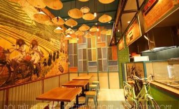 Ấn tượng khó phai với thiết kế nhà hàng đồng quê bình dị, hút khách