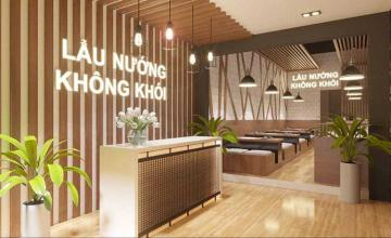 Thiết kế nhà hàng lẩu nướng - Mộc Châu, Sơn La
