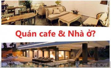 """Lời giải nào cho bài toán: ''Thiết kế nhà ở kết hợp quán cafe""""?"""