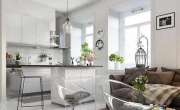 Mê mẩn với cách thiết kế nội thất chung cư 1 phòng ngủ nhỏ đẹp
