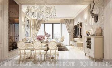 Thiết kế nội thất Luxury - chị Tú Anh, Imperia Garden