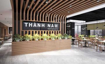 Thiết kế nội thất nhà hàng Thành Nam - Dương Nội