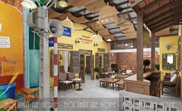 Công ty thiết kế quán cafe tại Hà Nội uy tín, giá rẻ