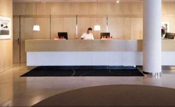 Thiết kế quầy lễ tân khách sạn độc, lạ đầy thu hút