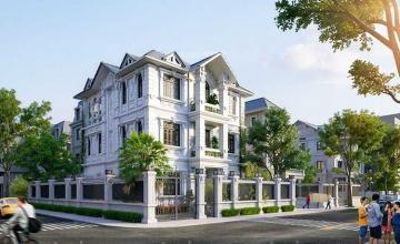 Thiết kế kiến trúc nội thất biệt thự Pháp - Vinhome