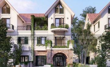 Thiết  kế kiến trúc nội thất biệt thự MILK