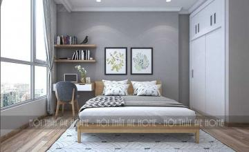 Phòng ngủ căn hộ Vinhome - chị Vân