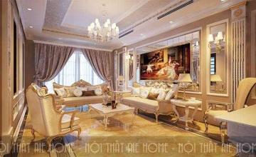 Mẫu thiết kế biệt thự 10x20 m2 nổi bần bật với nội thất tân cổ