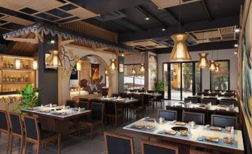 Nhà hàng lẩu nấm Nhật Bản - Shop house Vincom Hoà Bình