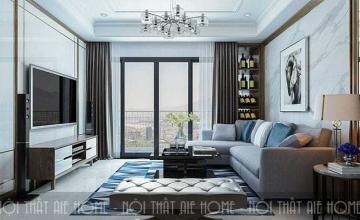 Thiết kế nội thất nhà chung cư 100m2 3 phòng ngủ cực ấn tượng
