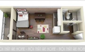 Những mẫu thiết kế nhà chung cư hình ống đẹp cho không gian sống lý tưởng