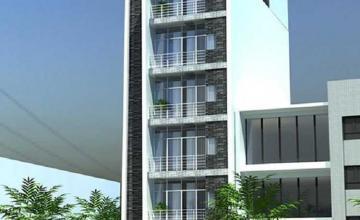 Thiết kế khách sạn mini 100m2 chuẩn sao trên mảnh đất 100 mét vuông