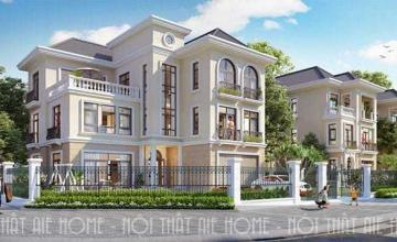 Thiết kế mặt tiền biệt thự nhà phố gây ấn tượng từ cái nhìn đầu tiên