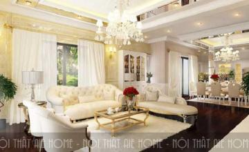Đặc trưng của phong cách thiết kế nội thất biệt thự cổ điển