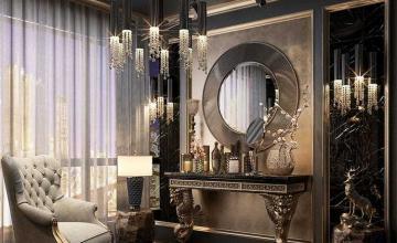 Thiết kế nội thất biệt thự tân cổ điển - Anh Hoàng Anh