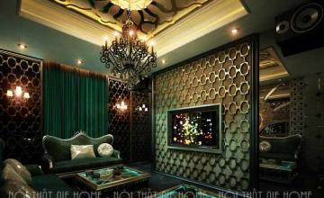 Thiết kế quán karaoke đẹp mắt, hấp dẫn mọi vị khách