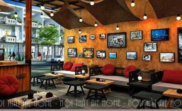 Tiêu chuẩn thiết kế quán cafe đơn giản đốn tim mọi vị khách khó tính