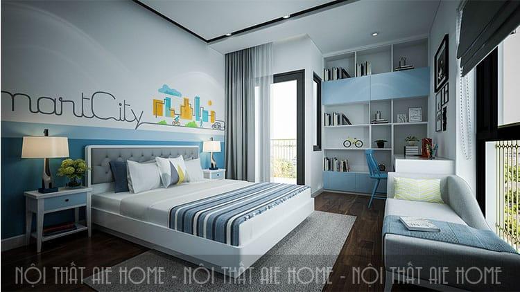 Phòng ngủ của con trong thiết kế chung cư 100m2 2