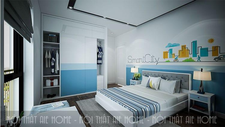 Phòng ngủ của con trong thiết kế chung cư 100m2 3