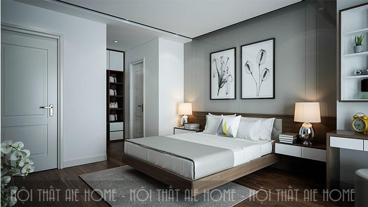 Phòng ngủ lớn cho căn hộ chung cư 100m2 3