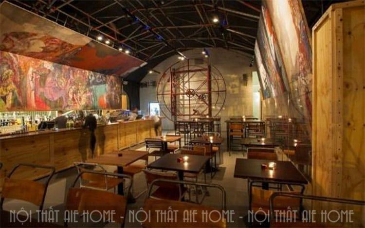 Thiết kế không gian quán cafe độc đáo với phong cách cổ điển