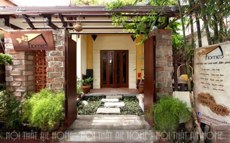 Ngôi nhà vườn mà bạn đang sở hữu có thể tận dụng để mở quán cafe yên tĩnh như này!