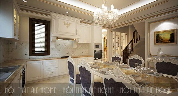 Thiết kế phòng ăn theo phong cách tân cổ điển 3