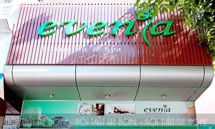 Setup Spa không thể bỏ qua việc thiết kế biển hiệu ấn tượng và độc đáo để thu hút khách hàng