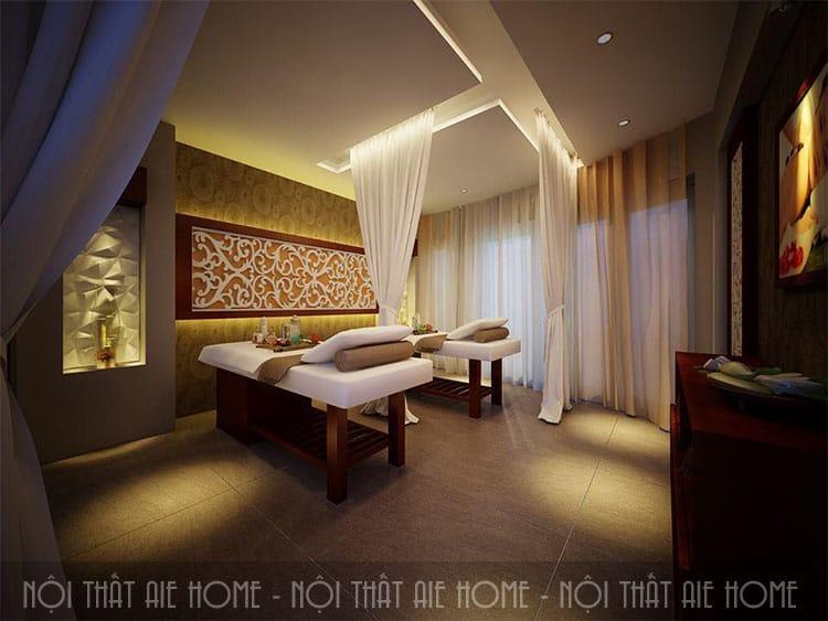 setup spa, có rất nhiều phong cách thiết kế nội thất spa đẹp, sang trọng
