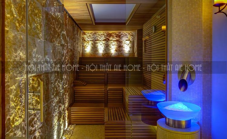 Thiết kế ấn tượng trong từng góc spa.