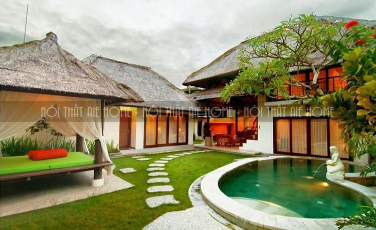 mẫu thiết kế biệt thự nhà vườn 2