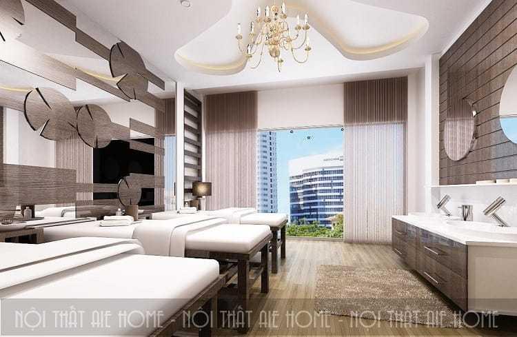 Mẫu thiết kế nội thất spa hiện đại