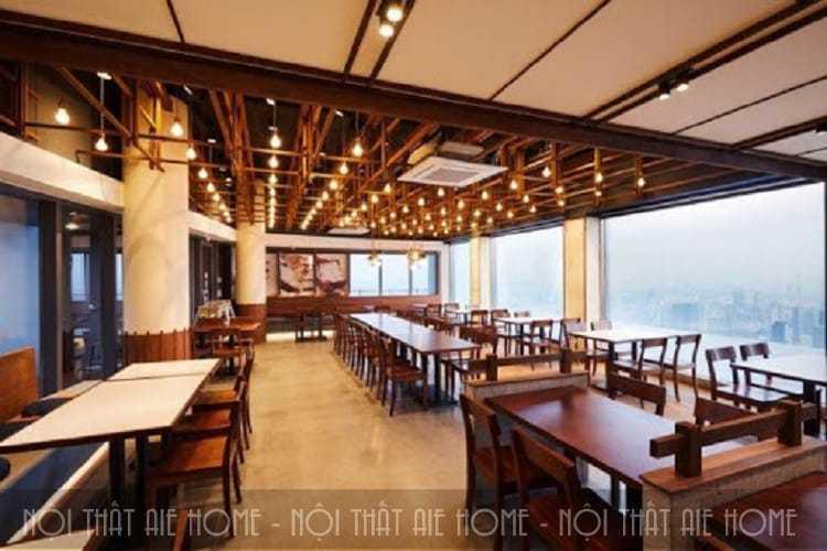 Thiết kế nhà hàng Hàn Quốc theo phong cách truyền thống
