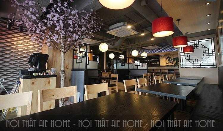 Thiết kế nhà hàng Hàn Quốc hiện đại, tinh tế