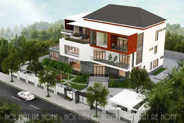 Những thiết kế biệt thự hiện đại bắt kịp xu hướng kiến trúc mới
