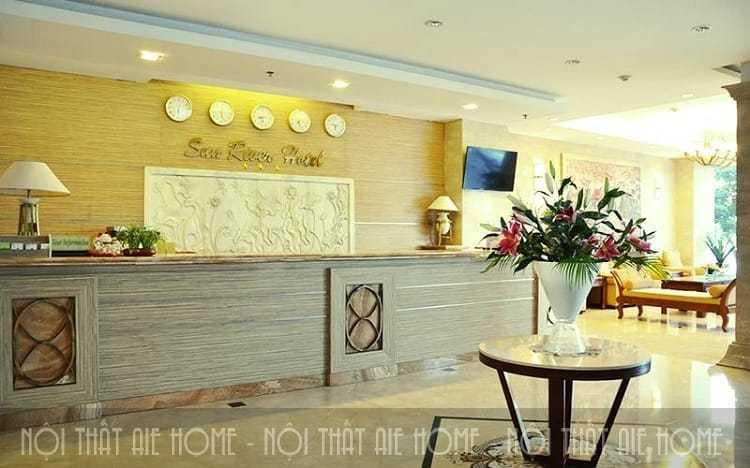 Thiết kế khu vực sảnh khách sạn