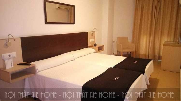 Không gian bình yên của phòng ngủ khách sạn