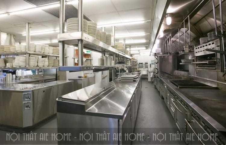 Bếp núc phải sạch sẽ, gọn gàng mới đảm bảo vệ sinh thực phẩm